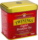 Чай черный Twinings English Breakfast 100г