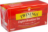 Чай черный Twinings English Breakfast 25 пак