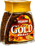Кофе растворимый Milagro Gold Roast 100г