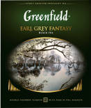 Чай черный Greenfield Earl Grey Fantasy 100 пак