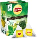 Чай зеленый Lipton Green Gunpowder 20 пак