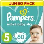 Подгузники Pampers Active Baby dry №5 11-16кг 60шт