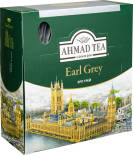 Чай черный Ahmad Tea Earl Grey 100 пак