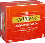 Чай черный Twinings English Breakfast 50 пак