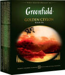 Чай черный Greenfield Golden Ceylon 100 пак