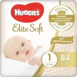 Подгузники Huggies Elite Soft №1 3-5кг 84шт