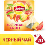 Чай черный Lipton Tropical Fruit 20 пак