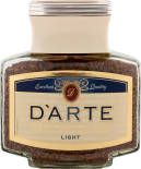 Кофе растворимый DArte Light Taste 100г