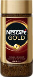 Кофе молотый в растворимом Nescafe Gold 190г