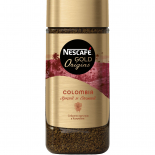 Кофе натуральный растворимый сублимированный NESCAFE GOLD Origins Colombia, 85 гр