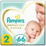 Подгузники Pampers Premium Care №2 4-8кг 66шт